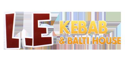 L.E. Kebab & Balti House Logo